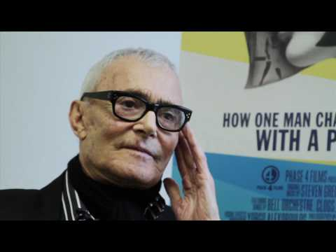Vidal Sassoon talks about his life and haircare with Lacey Bauman