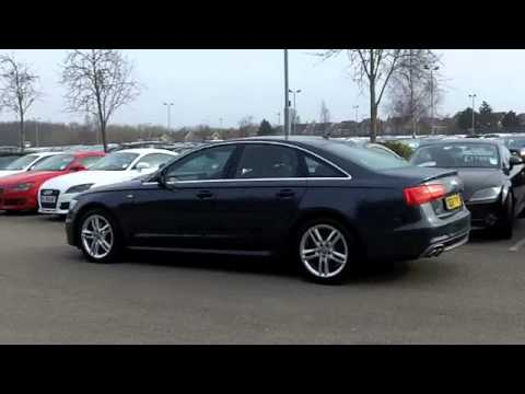 audi a6 diesel saloon 2012 2 0 tdi s line 4dr multitronic oe12tyy youtube. Black Bedroom Furniture Sets. Home Design Ideas