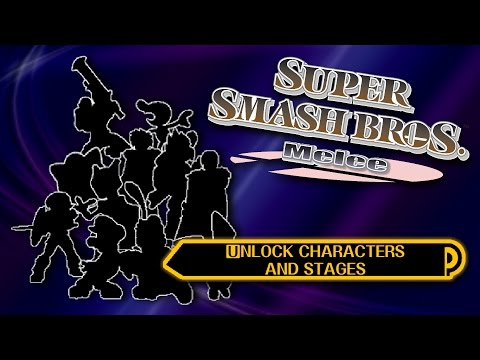 Unlock All Characters And Stages! - Super Smash Bros. Melee