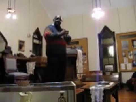 African American church music, Dr.Oral Moses, Old Zion Baptist, Marietta, GA.mov