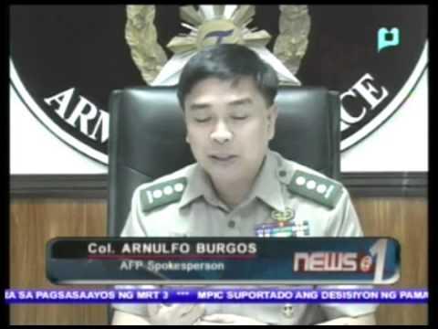 Pagresolba sa kaso ng pananambang sa Al Barka, Basilan, inaapura na ng AFP