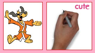 How to Draw a Hong Kong Phooey / Как нарисовать Hong Kong Phooey