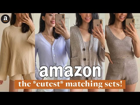 BEST AMAZON LOUNGEWEAR SETS (Easy, Casual & Affordable Amazon Comfy Clothes) | Fall Try On Haul 2020