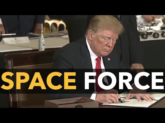 'Space Force', $716B Defense Bill Take Wasteful Military Spending to New Heights