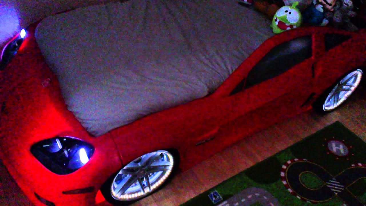 Modified Corvette Car Bed   YouTube