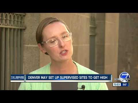 Denver May Set Up Supervised Sites To Get High