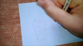 Come disegnare male un controller PS2 // How to draw badly a PS2 controller