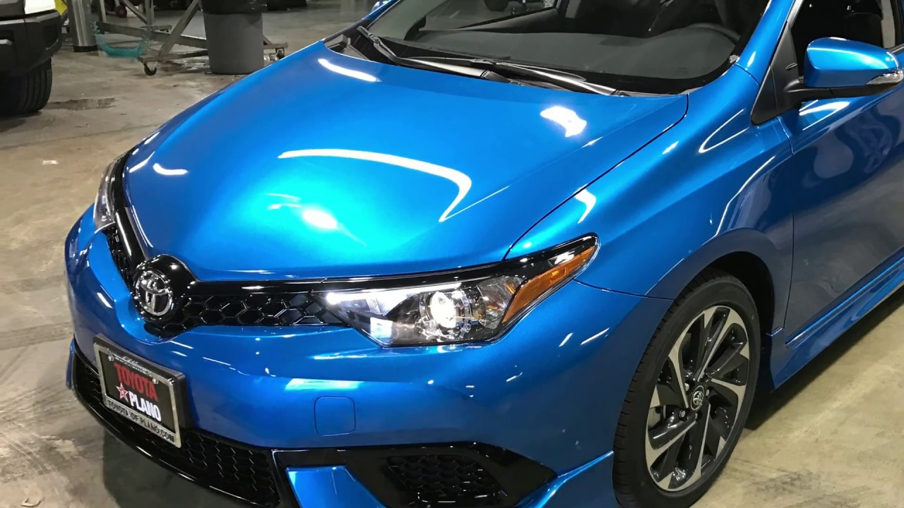 Toyota Of Plano >> HJ536075  2017 TOYOTA Corolla iM in Electric Storm Blue - YouTube
