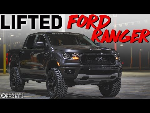 The NEW Ford Ranger, LIFTED?!
