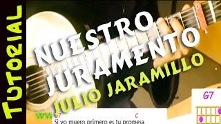 Como tocar NUESTRO JURAMENTO en GUITARRA acordes tab