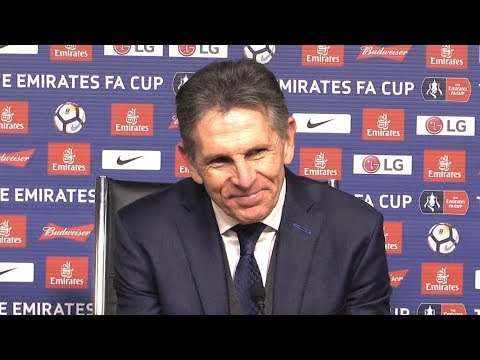 Leicester 2-0 Fleetwood - Claude Puel Post Match Press Conference - FA Cup Replay