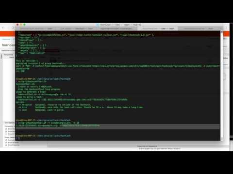 Screencast: Apigee Edge Hashcash verification