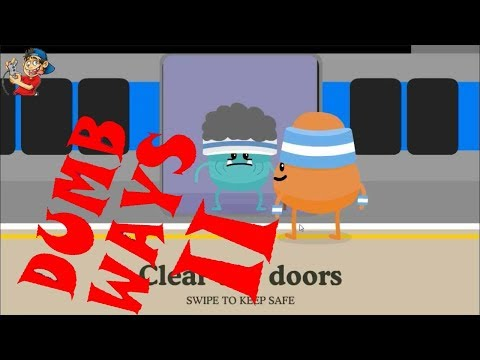 DUMB WAYS to Die 2   Metro Clear the doors   gameplay Crazy Gamer