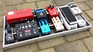 Simon Gotthelf 2017 pedalboard - First test drive