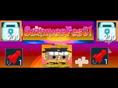 Growtopia | How to get rich in Summerfest? (2017)