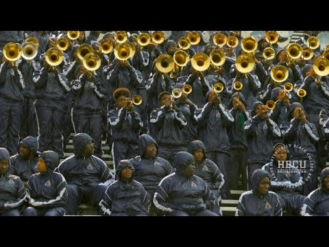 Now that Weve Found Love  Alcorn State Marching Band 2015  Filmed in 4K