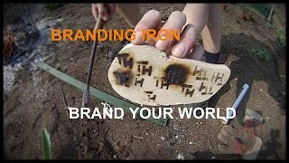 Make a BRANDING IRON ! Inspired by john heisz