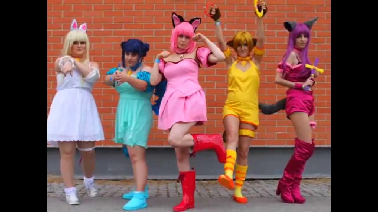 Tokyo Mew Mew Group Cosplay