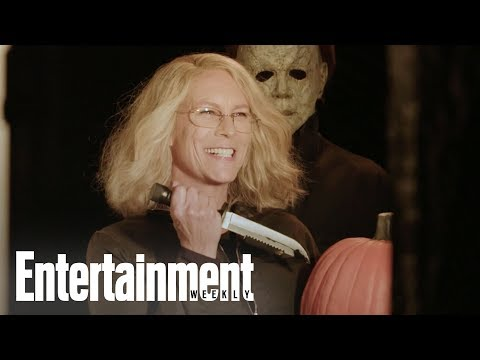 Jamie Lee Curtis On Making Halloween 40 Years After Original | Cover Shoot | Entertainment Weekly