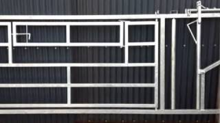 Ramage Contracts Video- Agricultural Steel Framed Buildings, Livestock Gates & Steel Stockholding