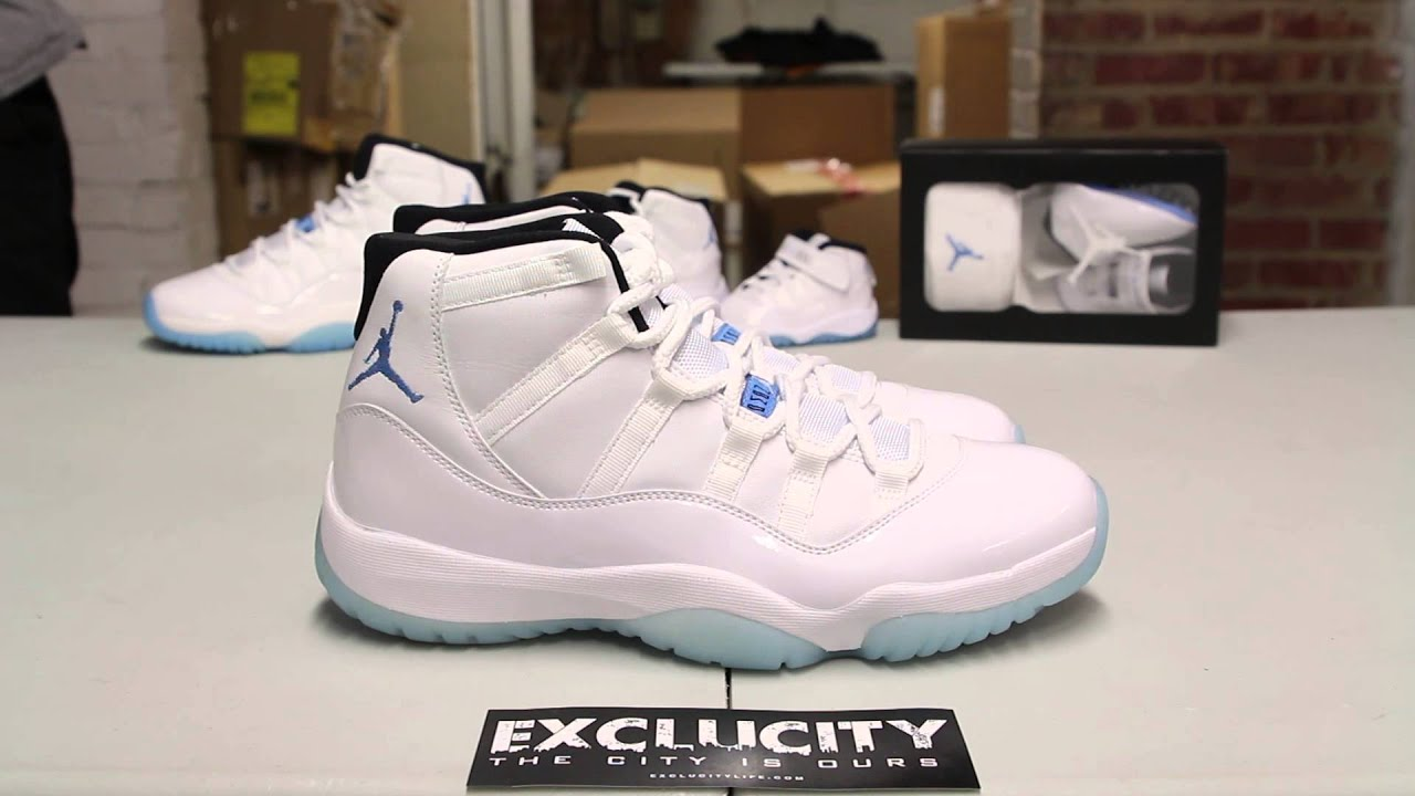 b309e81ef7bfe8 ... best air jordan 11 retro legend blue unboxing video at exclucity youtube  176f2 a0b55