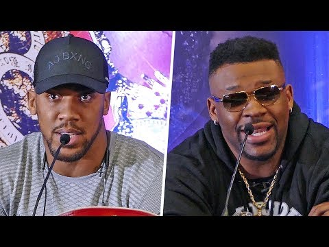 Anthony Joshua vs. Jarrell 'Big Baby' Miller PRESS CONFERENCE | London | Sky Sports Boxing