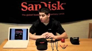 thẻ nhớ Sandisk quay film HD mượt - vimax.vn