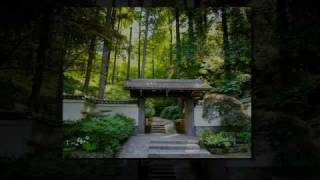 Portland Japanese Garden Images Set To Music