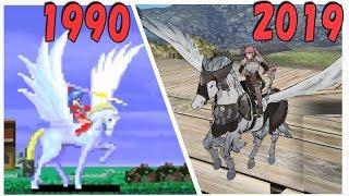 【FE風花雪月】ペガサスナイト 進化の歴史 【1990-2019】 |  Evolution of Pegasus Knight in Fire Emblem Series