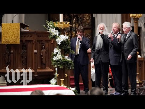 Oak Ridge Boys perform at George H.W. Bush funeral