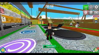 Gotrax playing EPIC MINIGAMES with Caua and Matheus (ROBLOX)