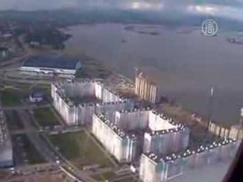 Хабаровск из-за наводнения