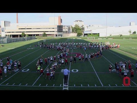 Wonderful wizardry: The Ohio State University Marching Band