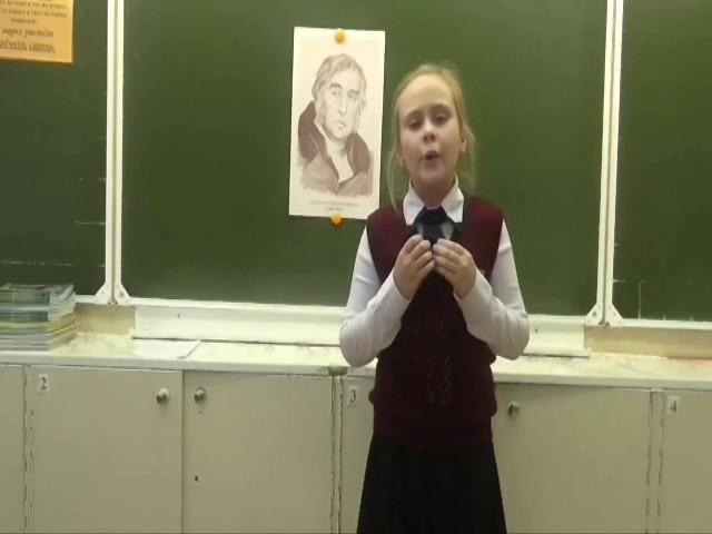 Изображение предпросмотра прочтения – ДарьяСимонова читает произведение «Чиж и Голубь» И.А.Крылова