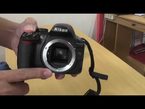 Membersihkan Sensor Kamera DLSR Nikon 3100