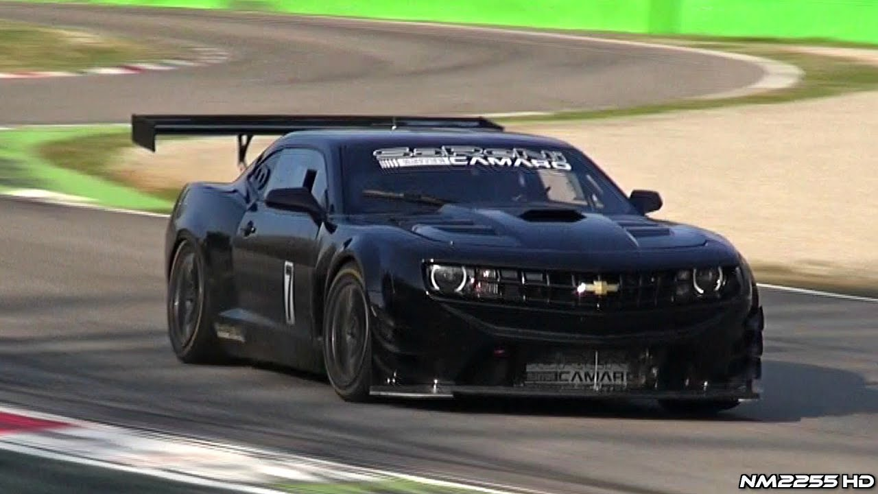 650hp Reiter Engineering Chevy Camaro Gt3 On Track Youtube