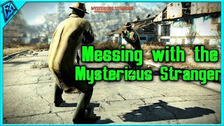 Fallout 4 Messing with the Mysterious Stranger