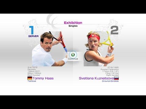 virtua-tennis-4-sega-tommy-haas-vs-svetlana-kuznetsova-rafael-nadal-roger-federer-andy-murray