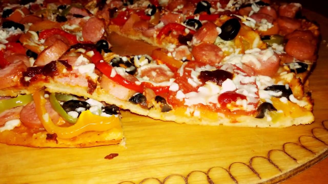 Mayasız Hamurdan Pizza Videosu 21