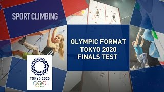 Escalade - Test Event : Format olympique Tokyo 2020