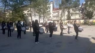 Akçakoca Barboros Anadolu lisesi bando takimi