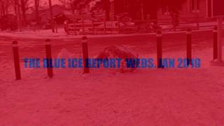 THE BLUE ICE REPORT  WEDS JAN 16 2019 GILFORD  BEACH  FILE  2019 0083