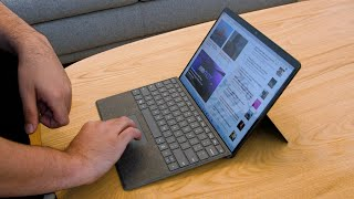 Microsoft's new Surface Pro 8 works well with Windows 11
