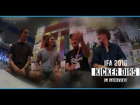 KICKER DIBS im Interview auf der IFA2016 bei YAGALOO.TV