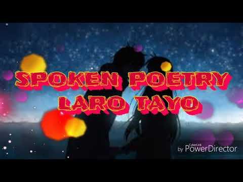 laro tayo spoken poetry