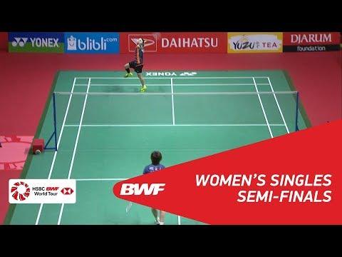 WS | TAI Tzu Ying (TPE) [1] vs HE Bingjiao (CHN) [8] | BWF 2018
