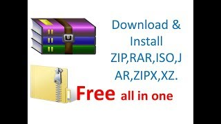 How to Download,Install & Create ZIP, RAR, ISO,JAR,etc.!!Easy Solution Academy