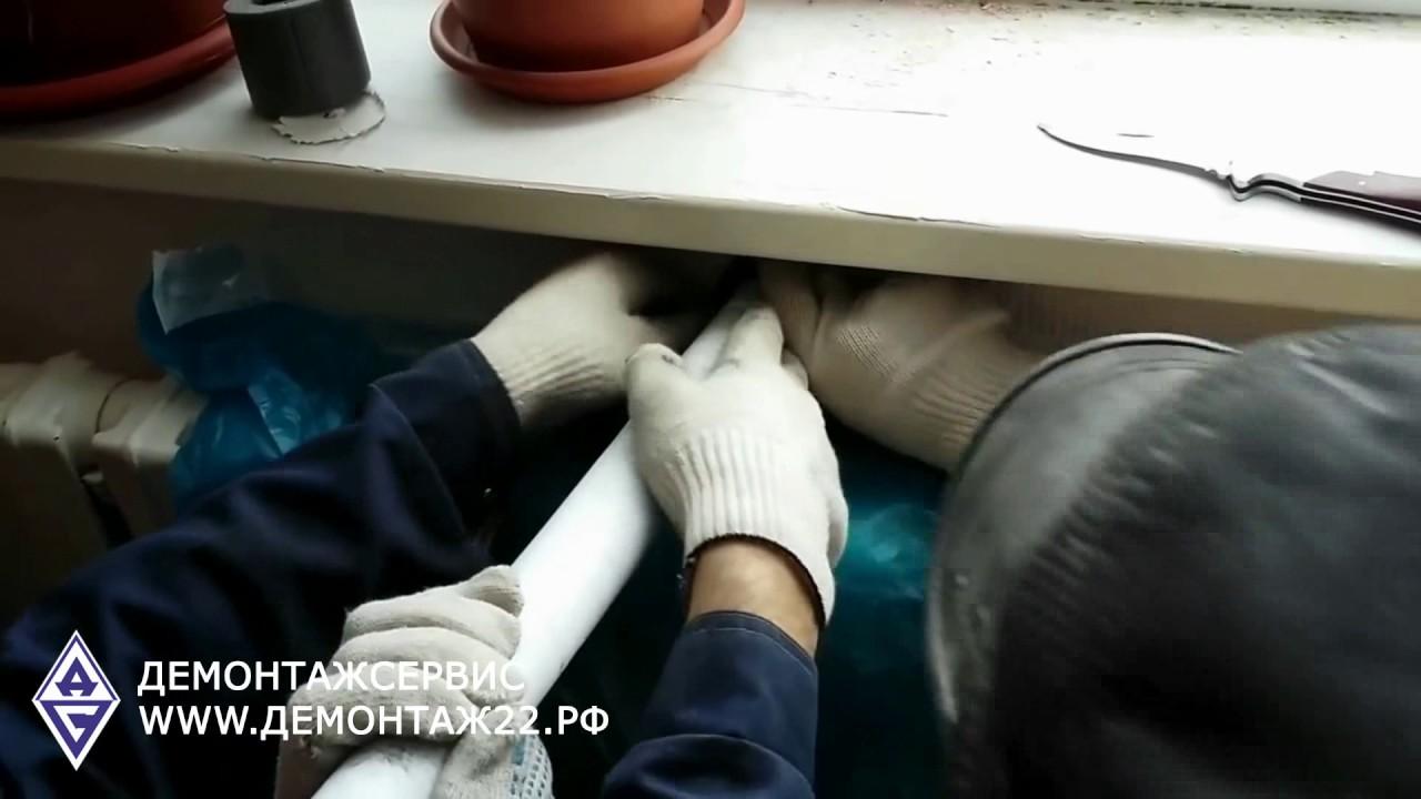 Монтаж клапана притока воздуха Домвент - YouTube