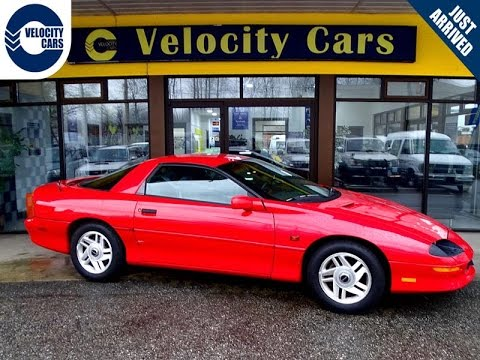 1996 Chevrolet Camaro Coupe V6 34k S 200hp Low Mileage For