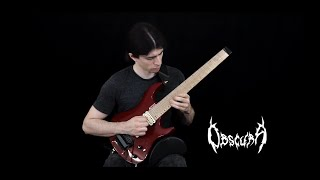 Obscura - Ethereal Skies (Guitar Playthrough by Rafael Trujillo)